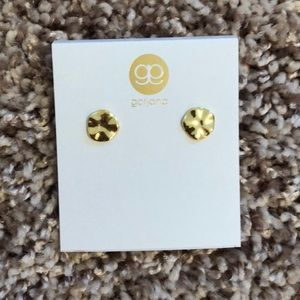 Gorjana gold small chloe studs
